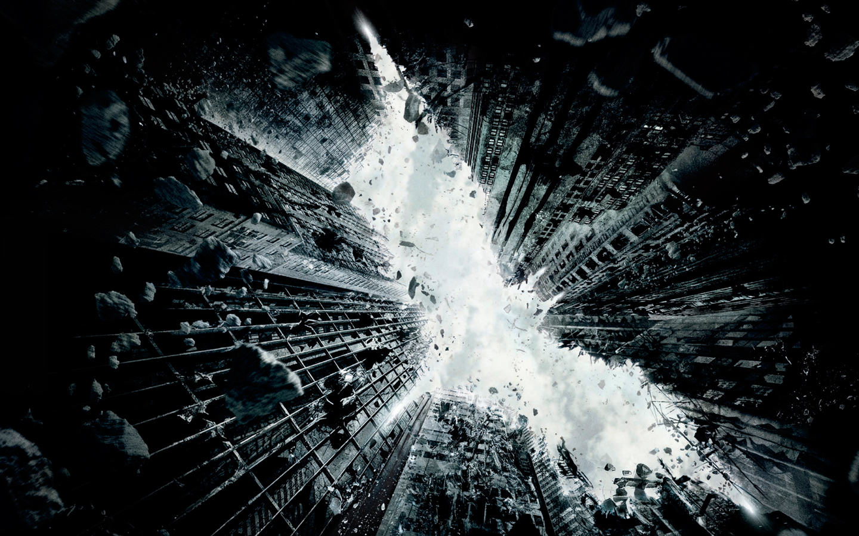 Dark Knight Rises teaser wall