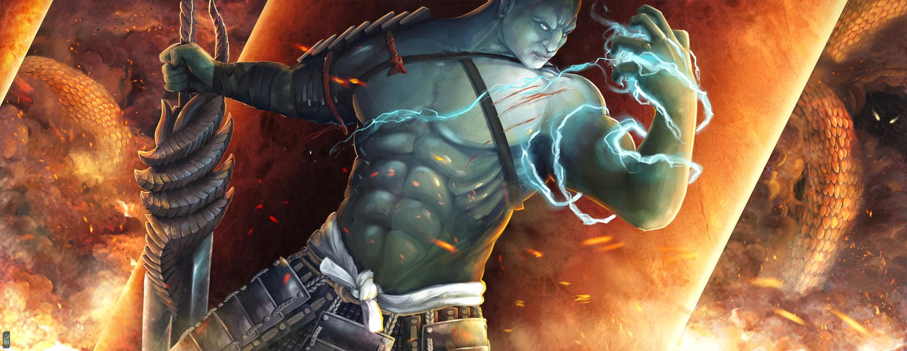 Jade Warrior by VegeraVV