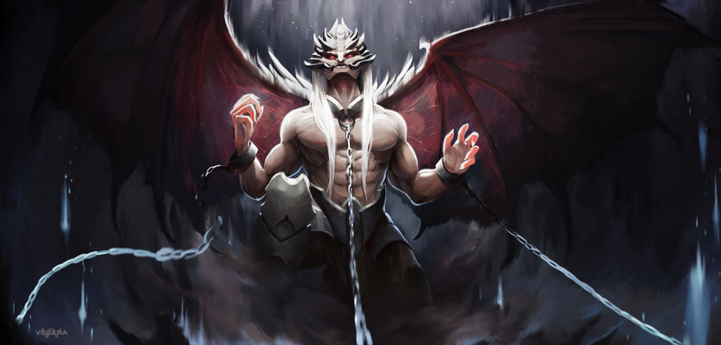 Sharpened Evil by VegeraVV