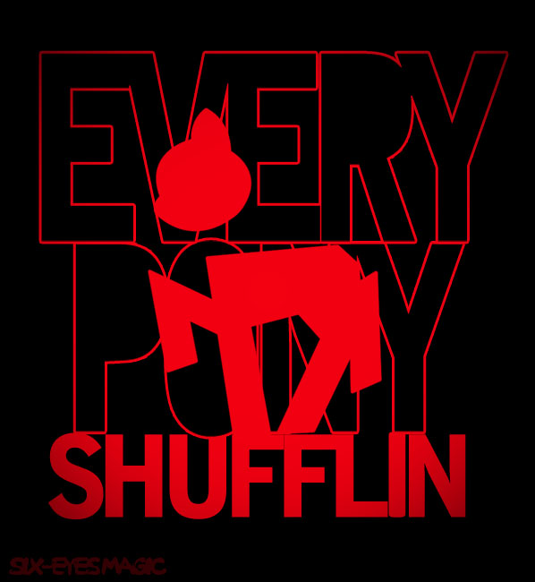 Every Pony Shufflin' by Magic92