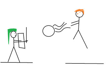 Stickmen 1: Link vs Ganondorf