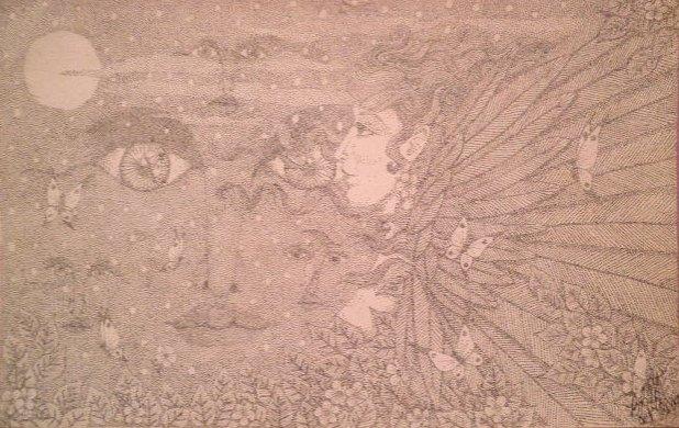 Angel eyes by Redcockatiel