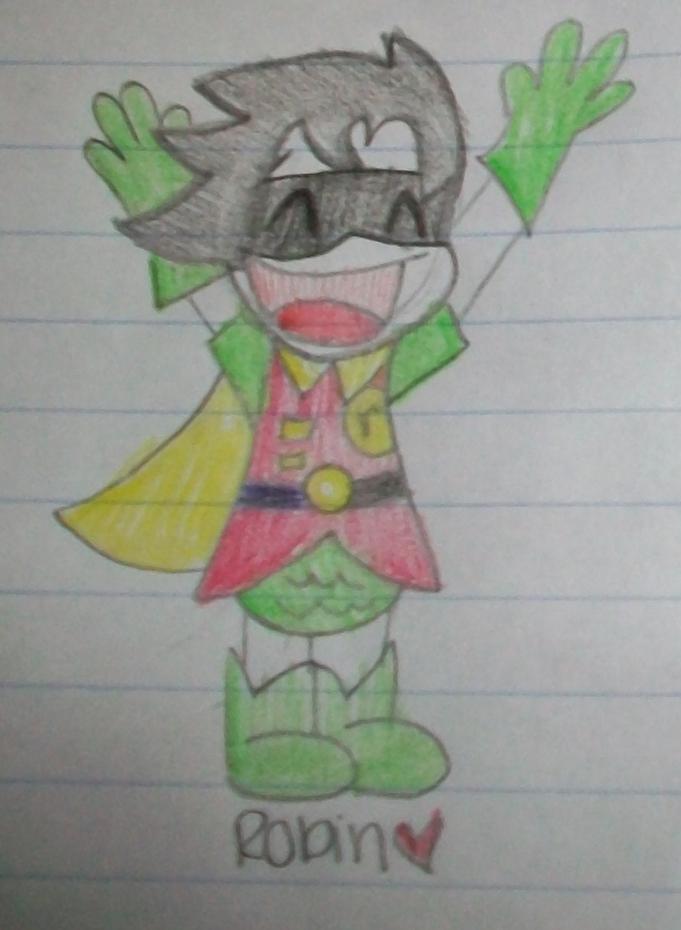 Robin Doodle by TeenDreamz