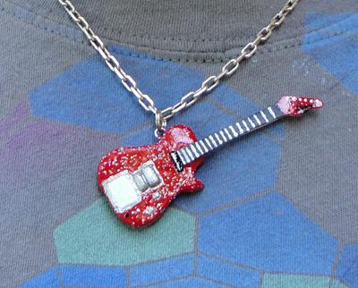 Glitterati Pendant by frenziedsilence
