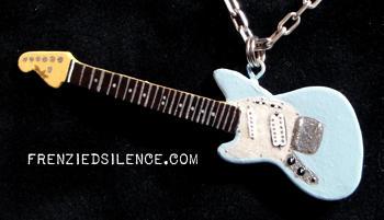 Kurt Cobain JagStang Pendant