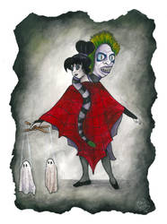 Lydia's Puppets by EclecticKatie