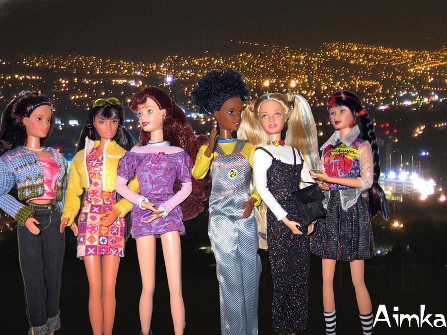 Lets go girls by Aimka