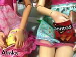 Miniature potato chips bag by Aimka