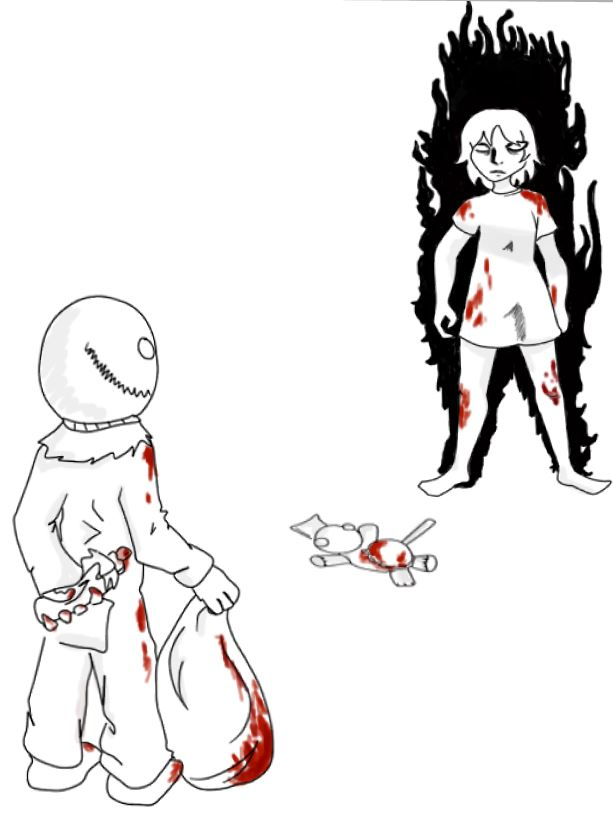 Ingrid vs Sam by Trizk09