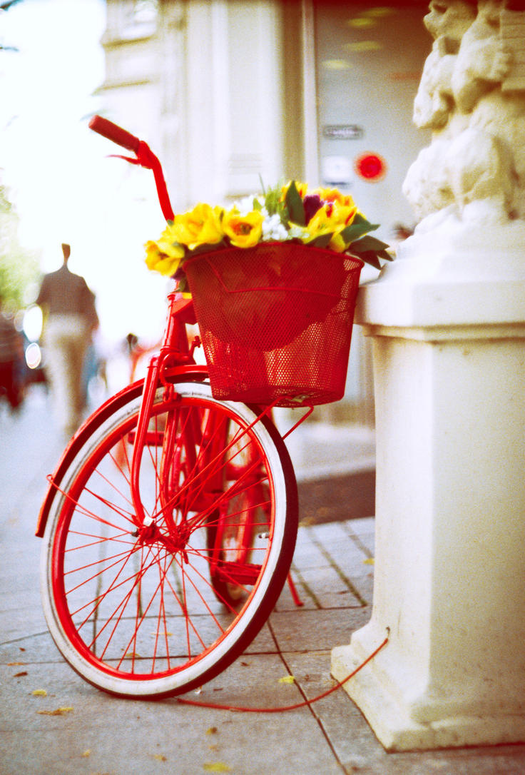 Red Bike by Crypt012