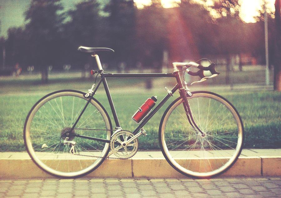 Black Bike by Crypt012