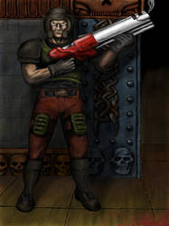 Quake Guy by Topspin07