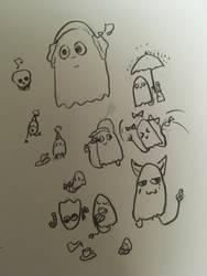 Sweet ghosts by Yukarie-chan11