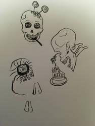 sweet skull by Yukarie-chan11