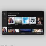 Desktop Music App UI/UX