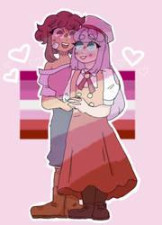 Cuties! (Hinata x Mao)