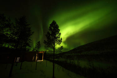 Aurora Borealis by Zerseu