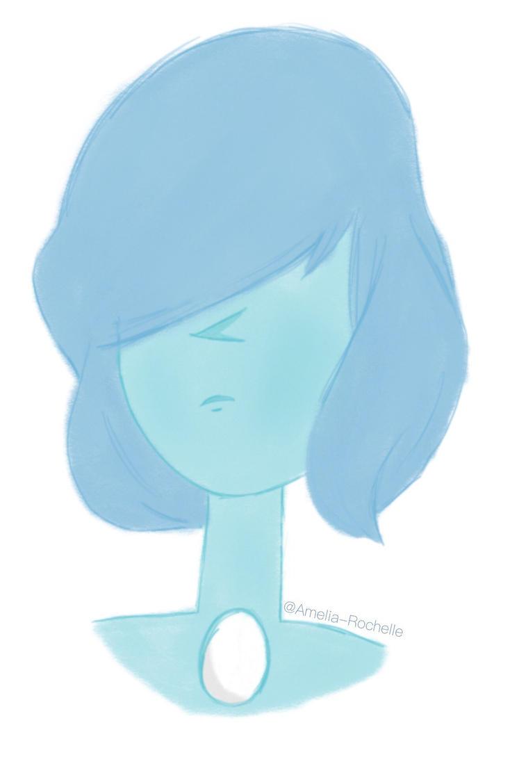 Blue pearl \\ Steven Universe by Amelia-Rochelle