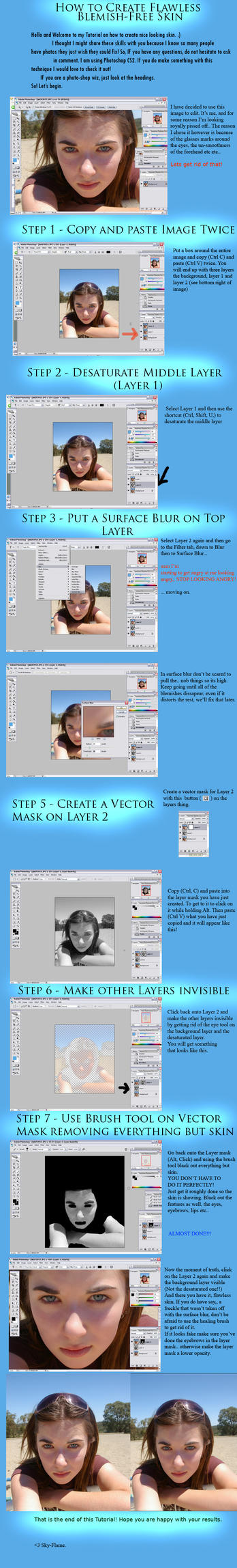 Tutorial: Flawless Skin by caitlin-may