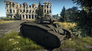 Char B1 bis at the Abandoned Factory