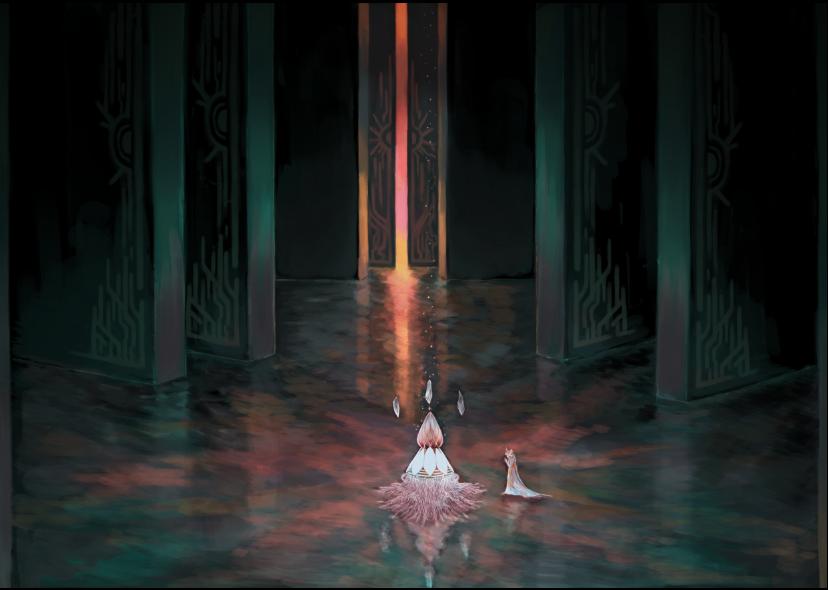 Exteria - Hall of Omniscience by ChronicSleeper