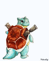 Blastoise 009 by PokeShoppe