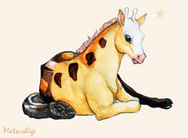 Girafarig by PokeShoppe