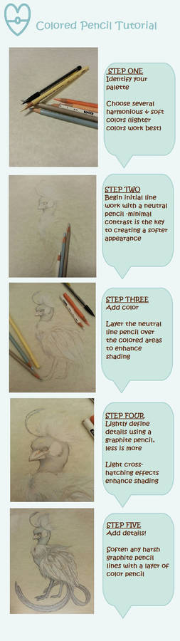 Tutorial: Poke'mon Realism Colored Pencil