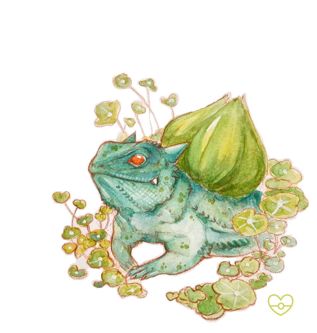 Sunny Day Bulbasaur by PokeShoppe