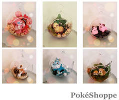 Pokemon Terrariums by PokeShoppe