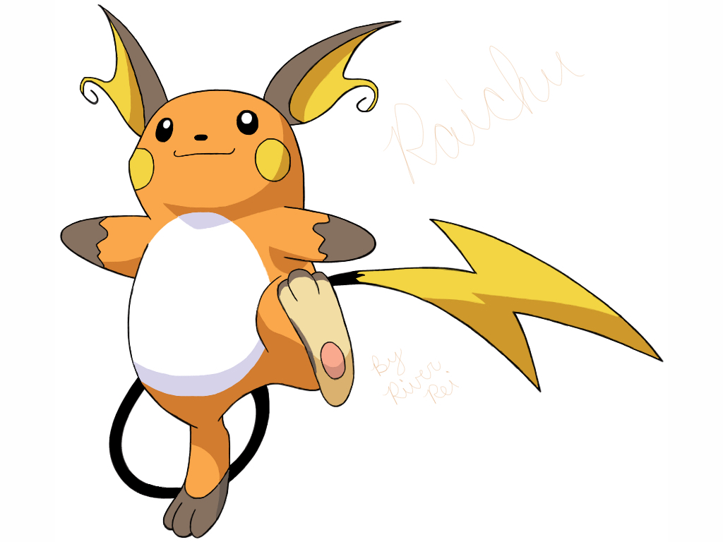 Raichu Fan Art by RiverRei on DeviantArt