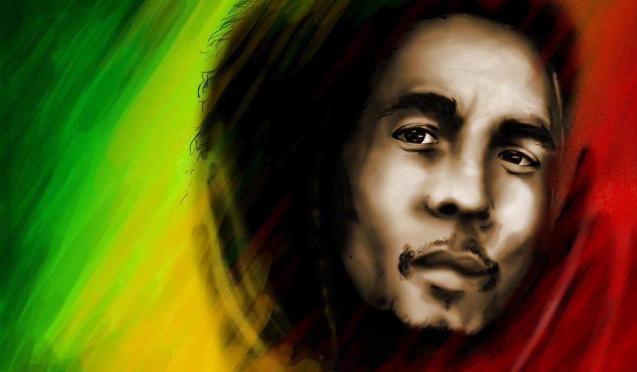 Bob Marley by Kuteka