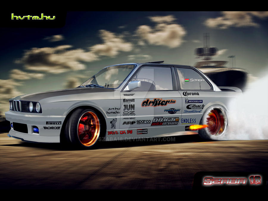 Bmw E30 Drift By Szaba18 On Deviantart