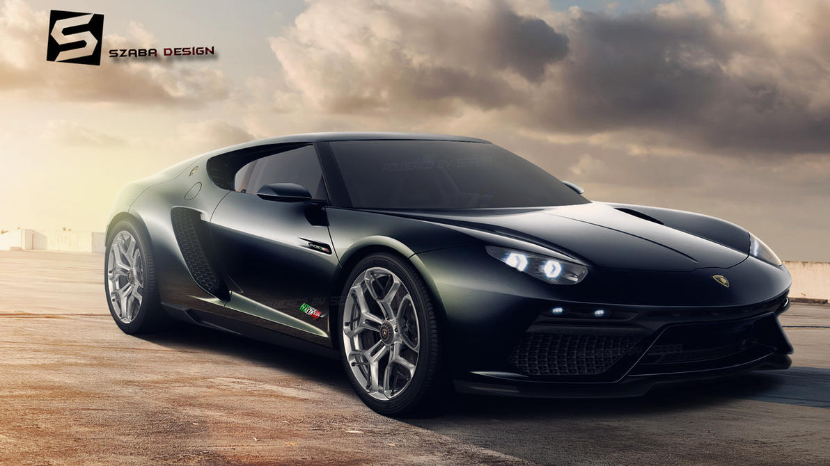 Lamborghini Asterion Black by Szaba18