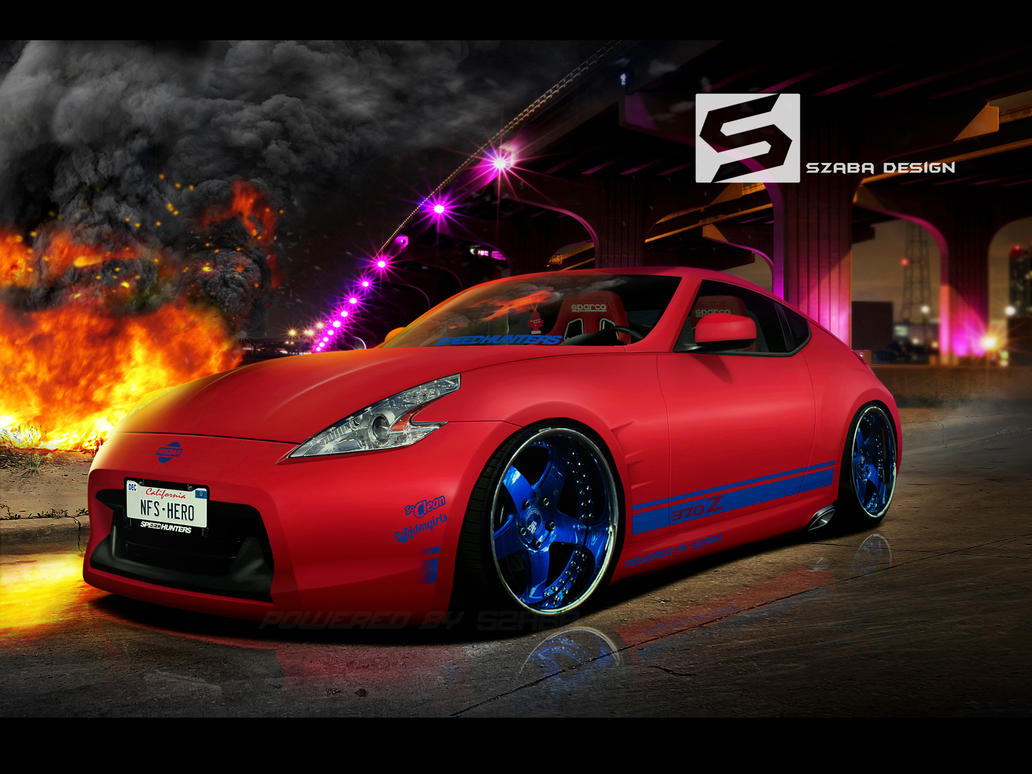370z Matte Red by Szaba18