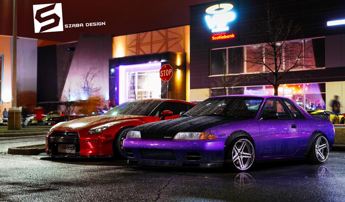 Nissan Skyline R32 by Szaba18