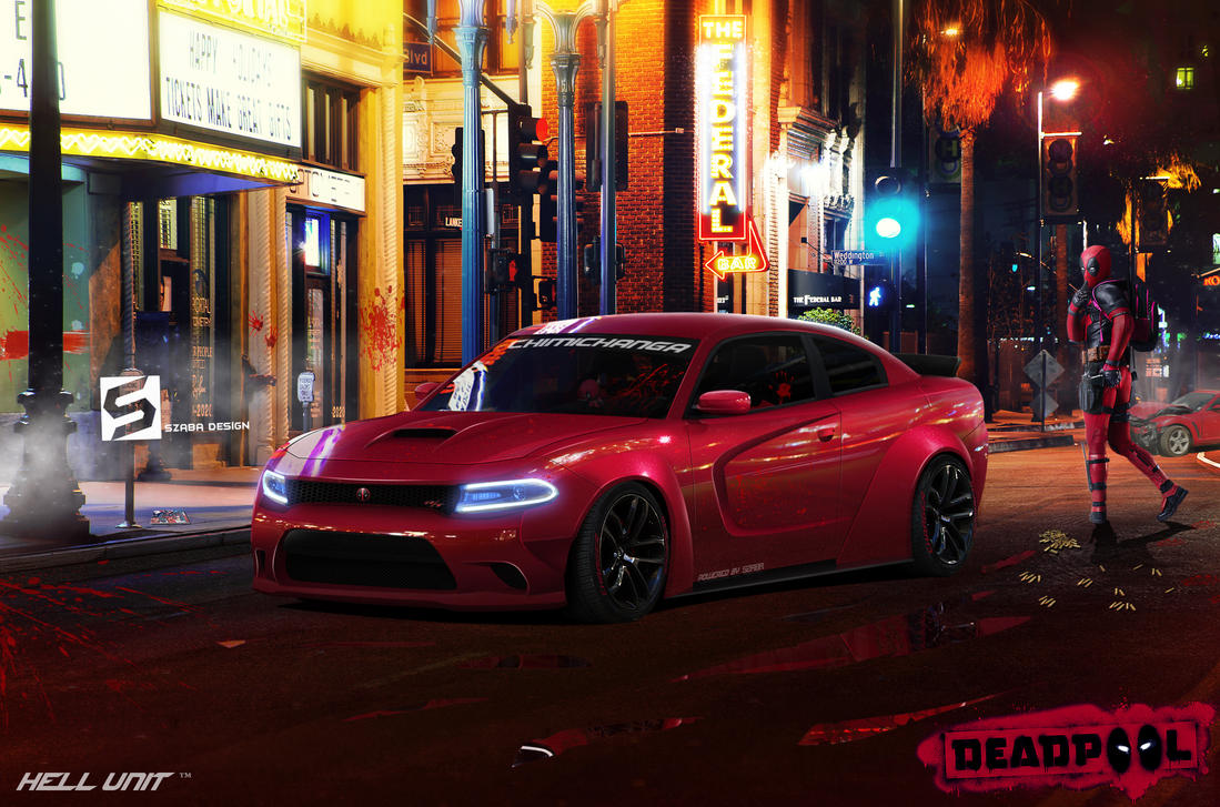 Deadpool Charger by Szaba18