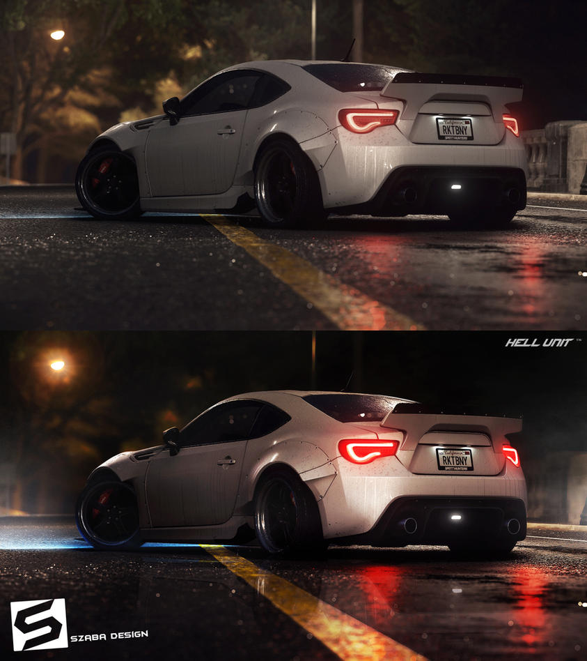After Effects Need For Speed 2015 by Szaba18