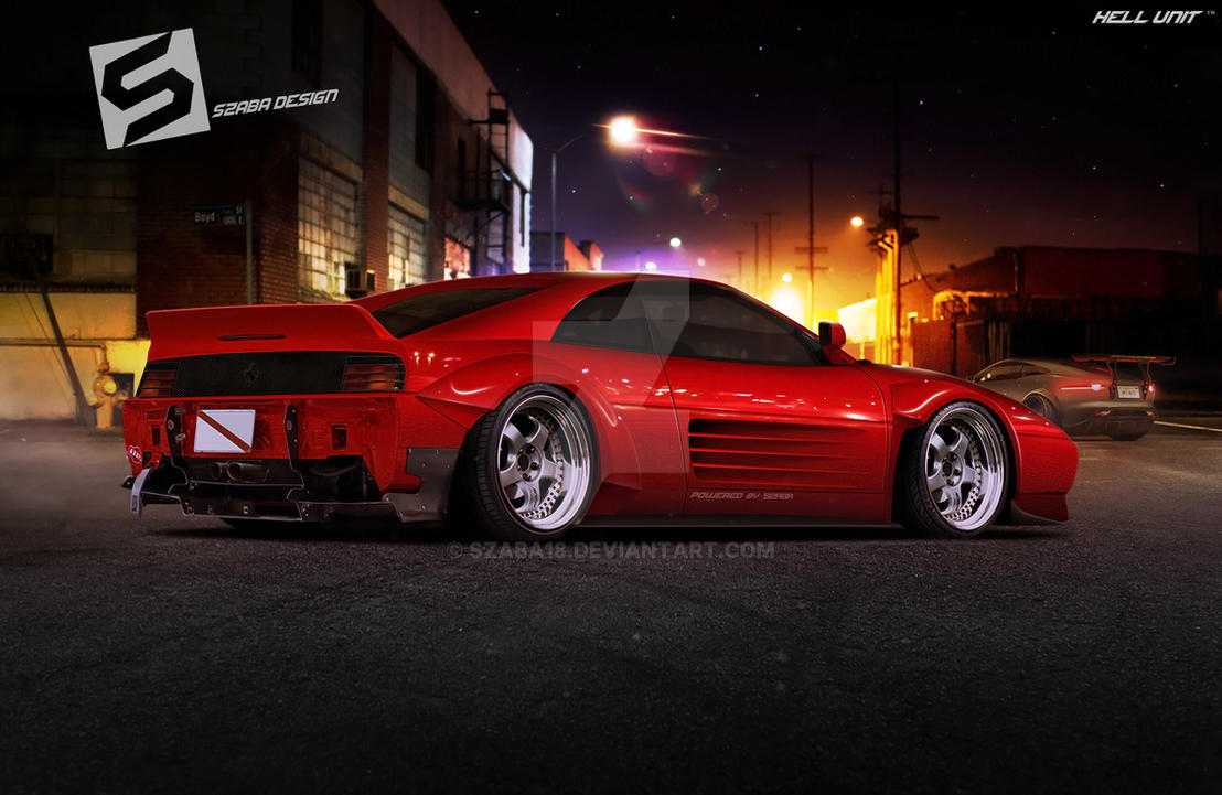 Ferrari 348 Widebody by Szaba18
