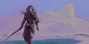 Warrior in the Desert