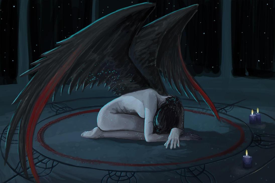 Angel's Lament by kalliikak