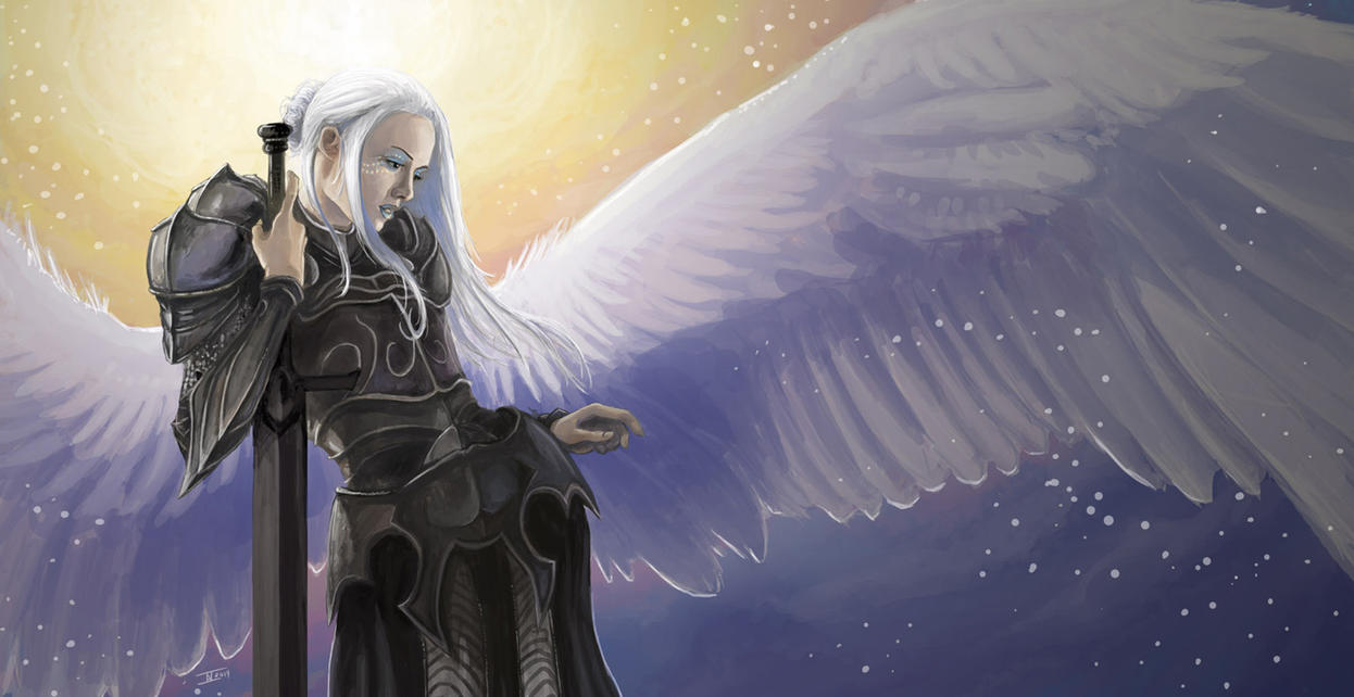 Armored Angel by kalliikak