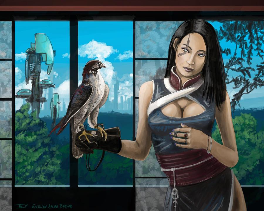Niraia Portrait by kalliikak