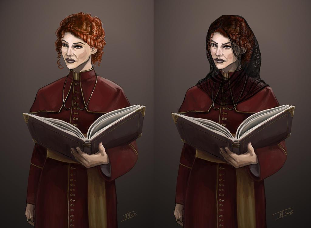 Lyse Portrait by kalliikak