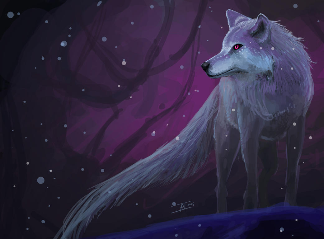 Blue Wolf by kalliikak