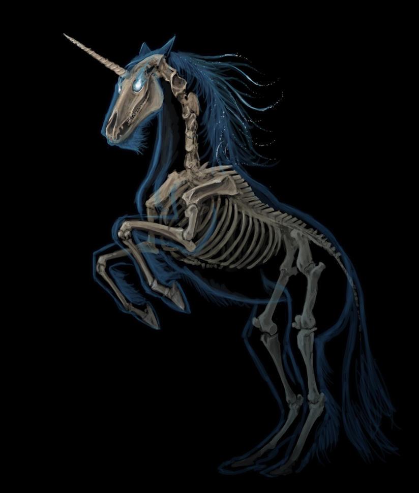 Spectral Unicorn by kalliikak