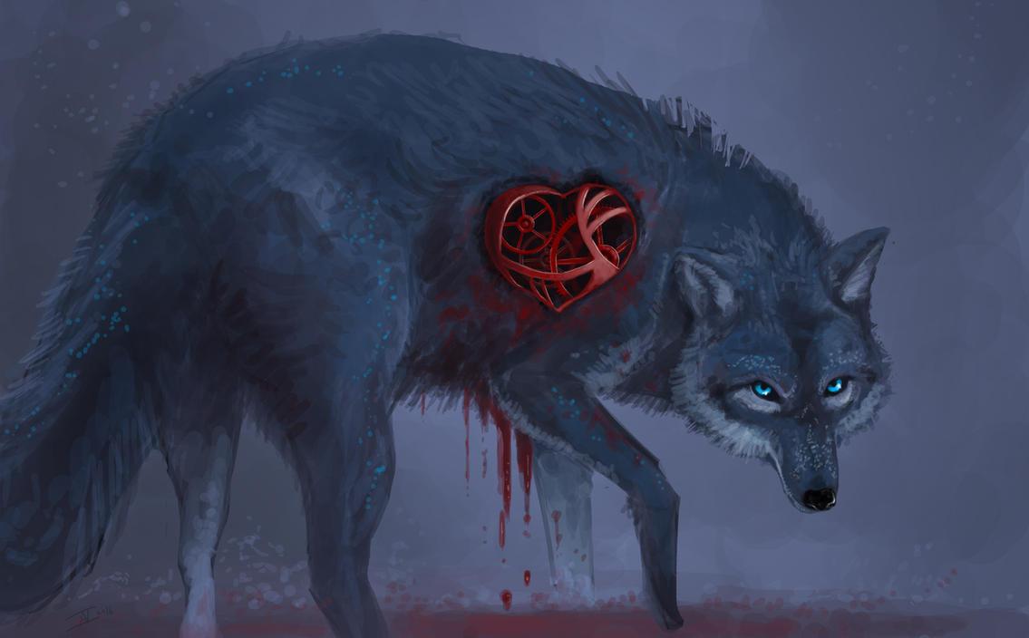 Clockwork Wolf by kalliikak