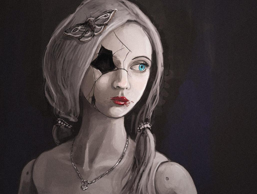 Broken Doll by kalliikak