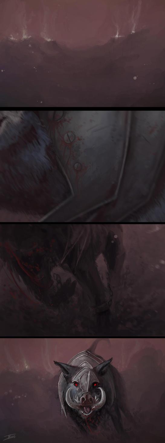 Blood Boar Cont. by kalliikak