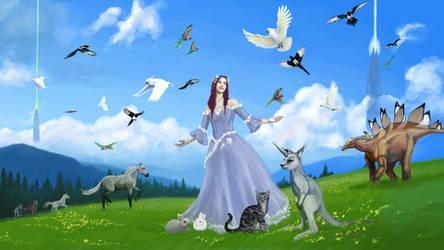 Bird Whisperer Princess Steph